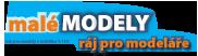 MaleModely.cz - úvodní stránka