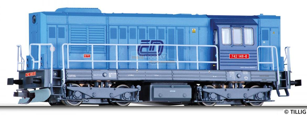Dieselová lokomotiva řady 742