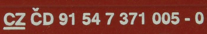 Elektrická lokomotiva  BR 372